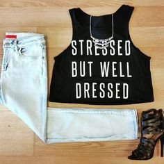 Stressed But Well Dressed #OOTD