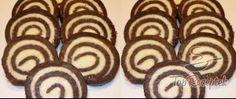 Citromos korongok   TopReceptek.hu Chocolate Mint Brownies, Rum, Muffin, Sweets, Cookies, Breakfast, Food, Gerhard, Internet