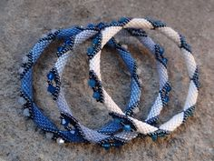Best Bracelet Perles 2017/ 2018 : Beaded bangles - I have pinned the tutorial for these below on my page. I have m...
