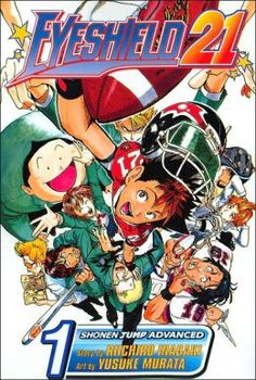 Eyeshield 21, Volume 1 by Riichiro Inagaki, Yusuke Murata (Illustrator). Click on the cover to see if the book (and others in the series) are available at Otis Library.