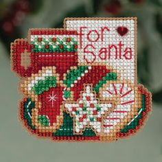 For Santa (beaded kit)