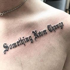33 Fabulous Collar Bone Tattoos That Flatter Your Shape - collar bone script tattoo designs for men - Collar Bone Tattoo For Men, Colar Bone Tattoo, Clavicle Tattoo, Collar Tattoo, Bone Tattoos, Forearm Tattoos, Hamsa Tattoo, Dragon Tattoos, Tatoos