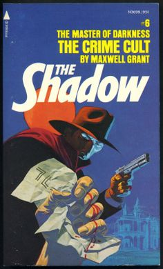 The Shadow 6 - The Crime Cult - Steranko cover