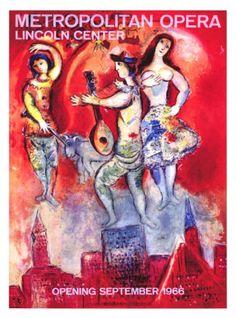 Metropolitan Opera Giclee Print by Marc Chagall at Art.com