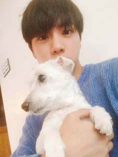 Jjangu just died :( Jin had him for 12 years, that must be hard to lose him. Jin says not to worry, but I can't help feeling really bad. Rest in Peace Jjangu ❤️
