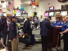 Eighty-four World War II veterans from across Montana gathered in Billings early Sunday for the fourth Big Sky Honor Flight to Washington, D.C.