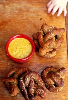 #GlutenFree Soft Pretzels