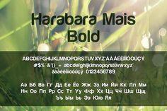 Harabara Mais Bold. Sans Serif Fonts. $20.00