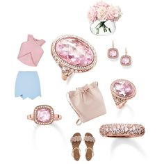 """The Look of Rose"" by thomassabo-official on Polyvore"