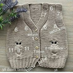 Baby breipatronen ð patterns de tricot de tejer di maglieria modelleri Baby Knitting Patterns, Free Knitting, Crochet Patterns, Crochet For Kids, Crochet Baby, Knit Crochet, Baby Pullover, Baby Cardigan, Baby Boy Photos