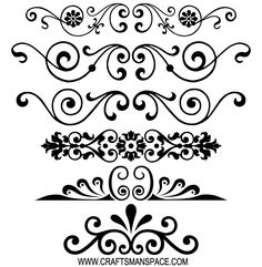 Free Decorative Ornaments Vector | Free Download Vector Ornament