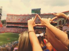 Whether you are involved in greek life or not at UF, you may be familiar with some of these popular greek traditions!