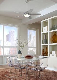 13 best dining ceiling fan ideas images on pinterest contemporary with a minimalist design and energy star rating the sleek fan by monte carlo not only complements perfectly a modern room but also delivers powerful air aloadofball Images