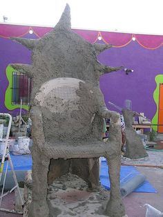Chicken Scratch - Darjit Benches and Chairs