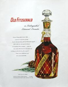1953 Old Fitzgerald ad (from #RetroReveries)