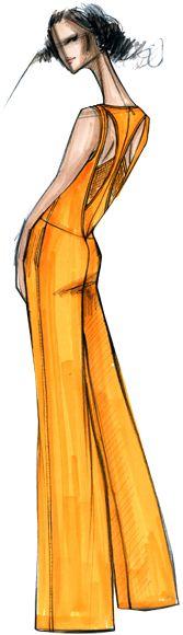 Rachel Roy - PANTONE Freesia Spring 2014 Pantone Fashion Color Report #FCRS14 #pantone @Rachel Roy