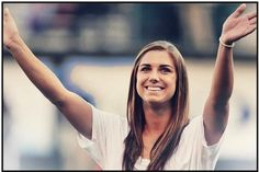 I want her smile, hair, face, definitly soccer skills.. can i just be her??