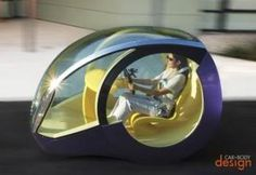 Futuristic Vehicle
