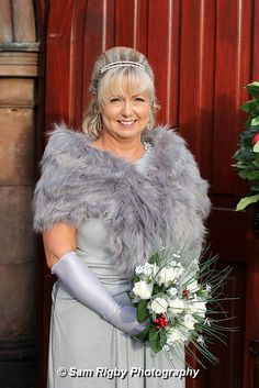 Bridesmaid St Nicholas Church, Saint Nicholas, Fur Coat, December, Bridesmaid, Photography, Wedding, Fashion, Maid Of Honour