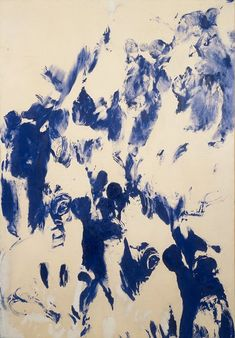 Oh I love this by Yves Klein 1961