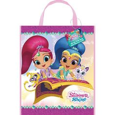 Shimmer & Shine Tote Bags - 13in (Each)