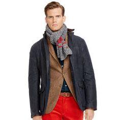 PRL The Cotton Oilcloth Sport Coat.