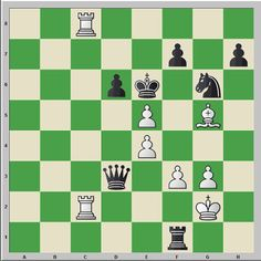 Chess & Strategy Exercise : Find the right continuation. White to move. How can White save this game?