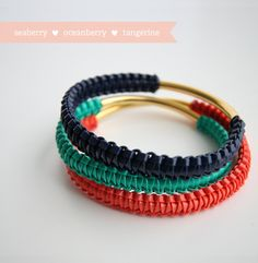 Gimp bangles. Totally making these... one day.