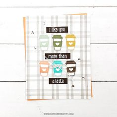 Paper Art, Paper Crafts, Concord And 9th, Coffee Is Life, Blended Coffee, Card Maker, Ink Color, Diy Cards, Like You