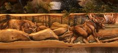 Hand Carved Fireplace Mantels, Rustic & Log Mantels, Beams
