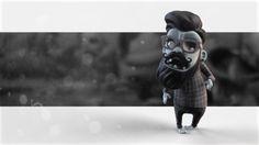 Hipster Zombie by Ruben Balasanyan