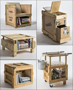 DIY Recycling Ideas | http://www.modernhomeinteriordesign.com/diy-recycling-ideas/