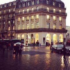 AmEx office on Rue Scribe in Paris