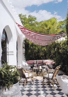 Amazing Patio With Sail