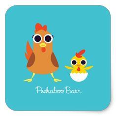 Maria & Bandit the Chickens #sticker
