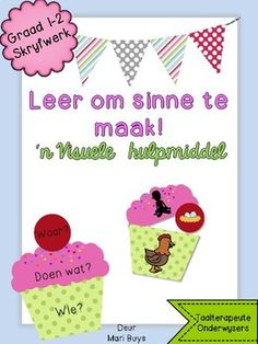 Afrikaans Language, Emergent Readers, School Resources, Teacher Newsletter, Teacher Pay Teachers, Kids Education, Something To Do, Classroom, Language Activities