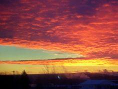 December Sunrise 2013 ~ by S. Durham
