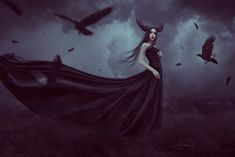 How to Create a Gothic Crow Lady Photo Manipulation With Adobe Photoshop Design Psdtuts