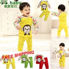 Find More Clothing Sets Information about Carters Menina Original Infant Baby Boys Girl Clothes Set Baby Girls Boy Clothing Set  For Newborns Bebes Tops Pants  ,High Quality Clothing Sets from GG. Baby Flagship Store on Aliexpress.com