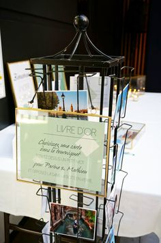 Mariage Vegetal & Mineral- Design Dessine-moi une etoile - Livre d'or Cartes postales