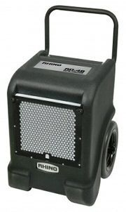 Dehumidifier Hire Sheffield. Electric operated dehumidifier machine complete with drainage bottle.