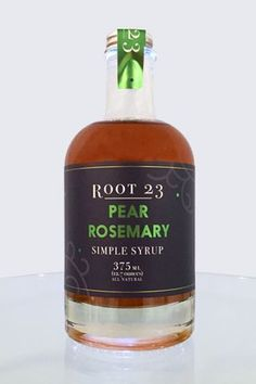 The sweet pear flavor combined with the aromatic rosemary makes for a refreshing summer cocktail. Pairs well with gin, vodka or prosecco. Ingredients: Organic cane sugar, water, pear juice concentrate