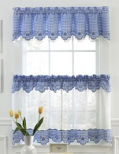 Provence Is A Deluxe Curtain Program Made Of Semi Sheer, Faux Linen  Fabric,. Kitchen CurtainsLinen ...
