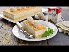 Prajitura Raffaello cu nuca de cocos (CC Eng Sub) Romanian Food, Romanian Recipes, Gluten Free Recipes, Macarons, Coco, Free Food, Tiramisu, Cheesecake, Dairy