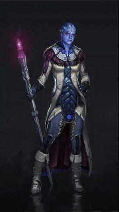 Dragon Effect, a Mass Effect/Dragon Age Mash-up: Liara