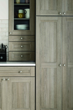 """Textured PureStyleTM is a warmer contemporary look - the look and feel of wood, without grain and color variation. Renovating your kitchen? Be sure attend one of The Home Depot """"Ask the Expert"""" events 9/20 through 9/22 to learn all about the Martha Stewart Living Kitchen line."""