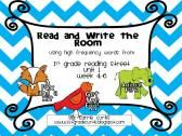 1st grade Reading Street: Read & Write the Room Unit 1, weeks 4-6 product from The-First-Grade-Derby on TeachersNotebook.com