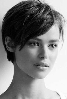 Edgy Pixie Hairstyles, Short Pixie Haircuts, Haircuts For Long Hair, Girl Haircuts, Short Hairstyles For Women, Short Hair Cuts, Short Hair Styles, Wedding Hairstyles, Short Cropped Hairstyles
