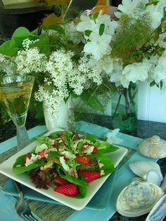 Chesapeake spring salad