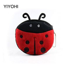 M044 Cartoon Lovely Owl Big Eyes Frog Plush Coin Purse Flat Small Bag Cloth Key Bag Girl Women Student Gift Wholesale Excellent Quality In